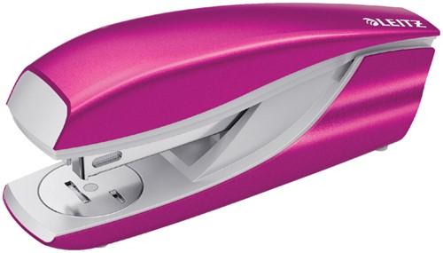 Nietmachine Leitz WOW NeXXt 30vel 24/6 roze