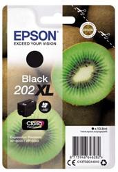 Inkcartridge Epson 202XL T02G14 zwart HC
