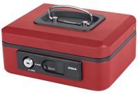 Geldkist Pavo Deluxe 200x160x90mm rood-2