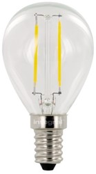Ledlamp Integral E14 2W 2700K warm licht 250lumen
