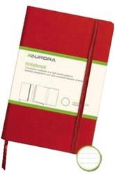 Notitiebook Quantore A5 lijn 192blz rood