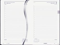 Agenda 2019 Brepols Saturnus kort 1dag/1pagina zwart