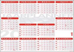 Jaarplankalender 2019 Quantore 48x68cm