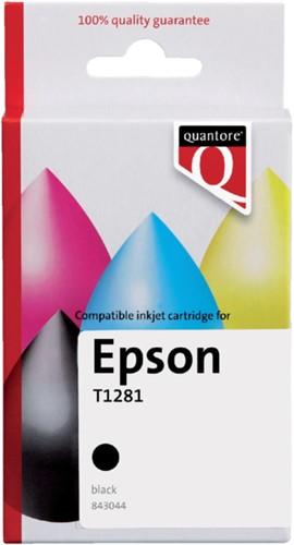 Inkcartridge Quantore Epson T128140 zwart