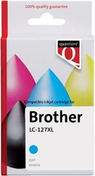 Inkcartridge Quantore Brother LC-125XL blauw