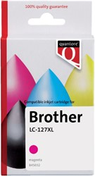 Inkcartridge Quantore Brother LC-125XL rood