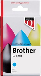 Inkcartridge Quantore Brother LC-1240 blauw