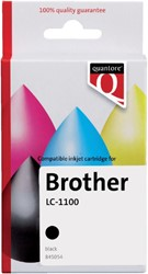Inkcartridge Quantore Brother LC-1100 zwart