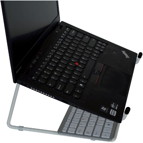 Ergonomische laptopstandaard R-Go Tools Riser Office