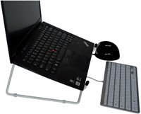 Ergonomische laptopstandaard R-Go Tools Riser Office-2