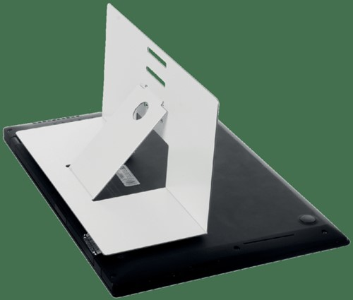Ergonomische laptopstandaard R-Go Tools Riser attachable wit-2