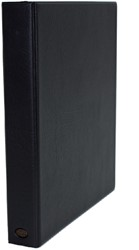 Ringband Multo Hannibal A4 23-rings O-mech 32mm lederlook zwart