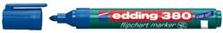 Viltstift edding 380 flipover rond blauw 1.5-3mm