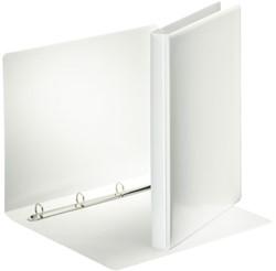 Presentatieringband Esselte A4 4-rings O-mech16mm wit