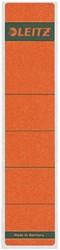 Rugetiket Leitz smal 39x192mm zelfklevend rood