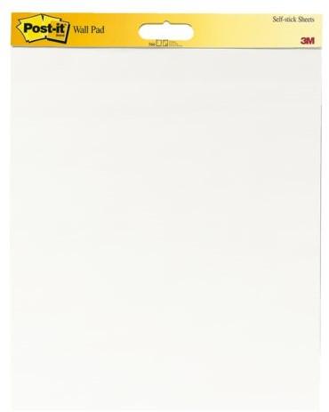 Meeting chart 3M Post-it 566 Super Sticky 508x584mm blanco