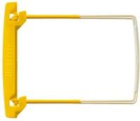 Bundelmechaniek Jalemaclip compleet geel zelfklevend 10 stuk