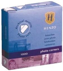 Fotohoekje Henzo dispenser 1000stuks