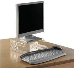 Monitorstandaard OPUS 2 17/19inch transparant