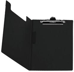 Klembordmap Elba met klem + penlus zwart