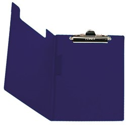 Klembordmap Elba met klem +penlus donkerblauw
