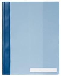 Snelhechter Durable 2510 A4 PVC extra breed blauw