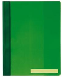Snelhechter Durable 2510 A4 PVC extra breed groen