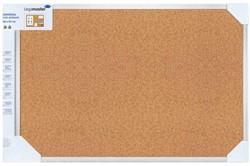 Prikbord Lega universal 45x60cm kurk retailverpakking