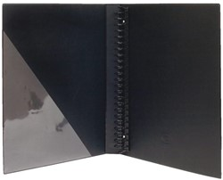 Ringband Multo Esprit 23-rings A4 25mm D-mech zwart