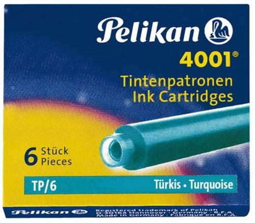 Inktpatroon Pelikan 4001 turquoise