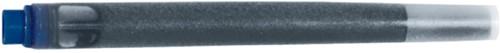 Inktpatroon Parker Quink permanent blauw/zwart
