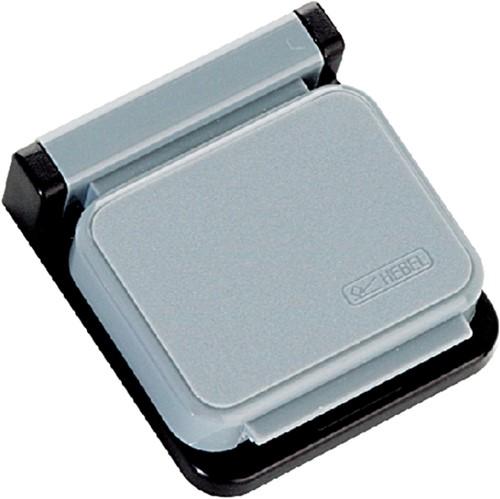 Klemboy Hebel magnetisch zelfklevend grijs
