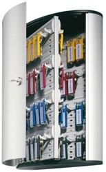 Sleutelkast Durable 1955 aluminium 72haken 302x400x118mm
