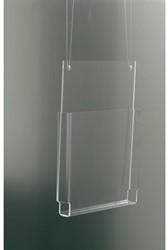 Folderhouder Opus2 hangend A4 dwars glashelder
