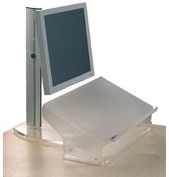 Documentenhouder Opus2 A3 hoogte verstelbaar mat transparan