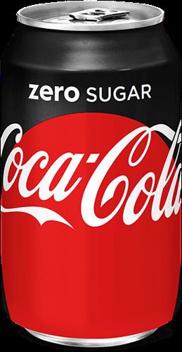 Frisdrank Coca Cola Zero, tray à 24 blikjes 33cl