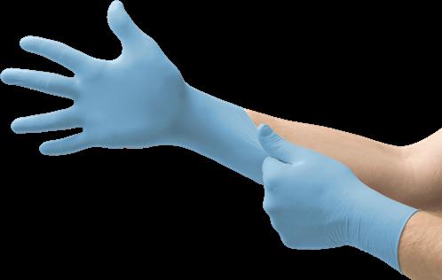Handschoen nitril ongepoederd XL 100 stuks