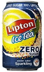 Frisdrank Lipton Ice Tea Zero Sparkling 33cl Tray a 24