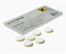 Reinigingstabletten Schaerer Kamareta tablet met spons Krimp 10