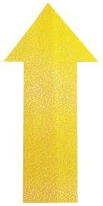 Vloersticker pijl geel pak à 10