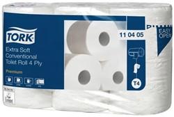 Toiletpapier Tork T4 110405 4laags Premium Seal a 7 pak van 6 rol